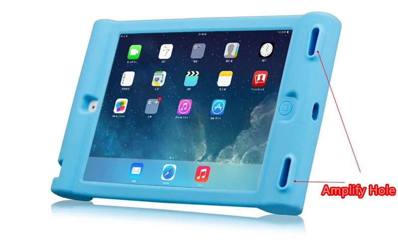 2018 Cool Silicone iPad Air And Air 2 Sleeve Cases For Kids IPFK04_11