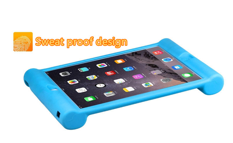 2018 Cool Silicone iPad Air And Air 2 Sleeve Cases For Kids IPFK04_14