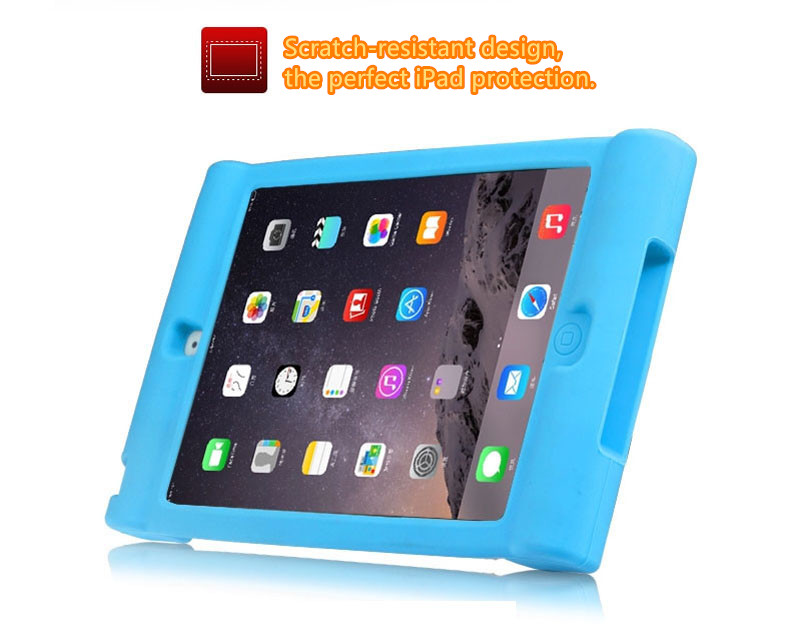 2019 Cool Silicone iPad Air And Air 2 Sleeve Cases For Kids IPFK04_16