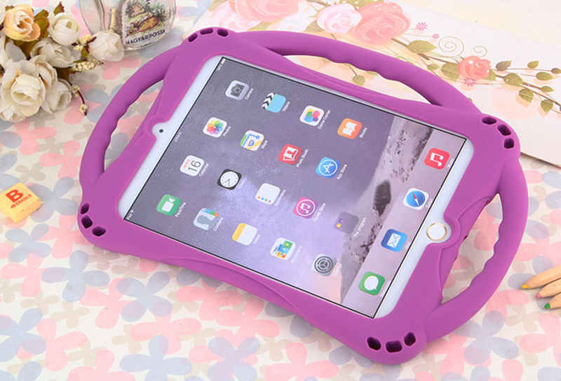Anti Drop Protective Silicone Children Case For iPad Air 2 Pro 9.7 Inch IPFK07_13