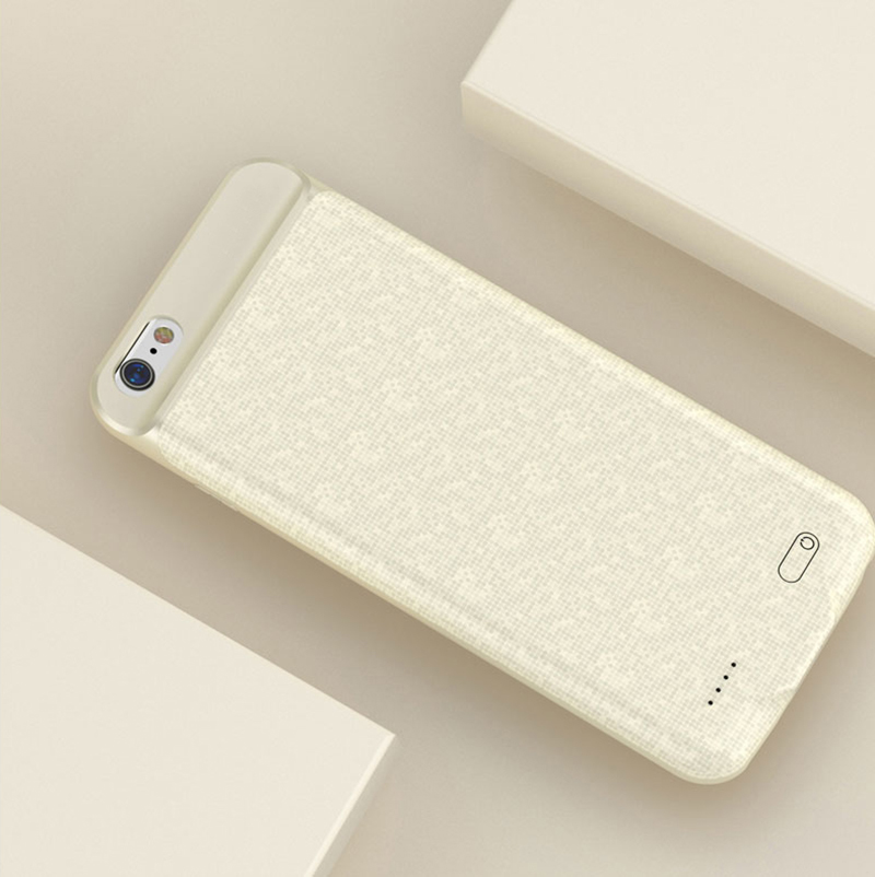 Ultra Thin Charger Case Cover For iPhone 8 6 6S 7 7 Plus IPGC10_9