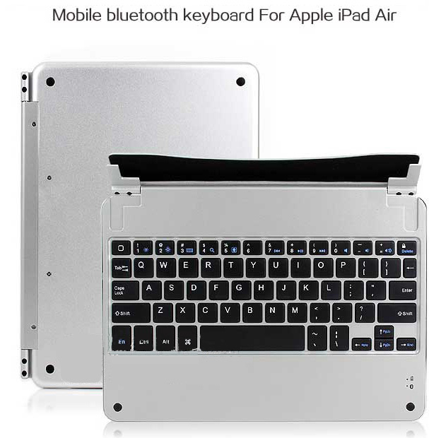 Best Aluminum Silver Keyboard Apple iPad Air Keyboard Cover For You IPK04