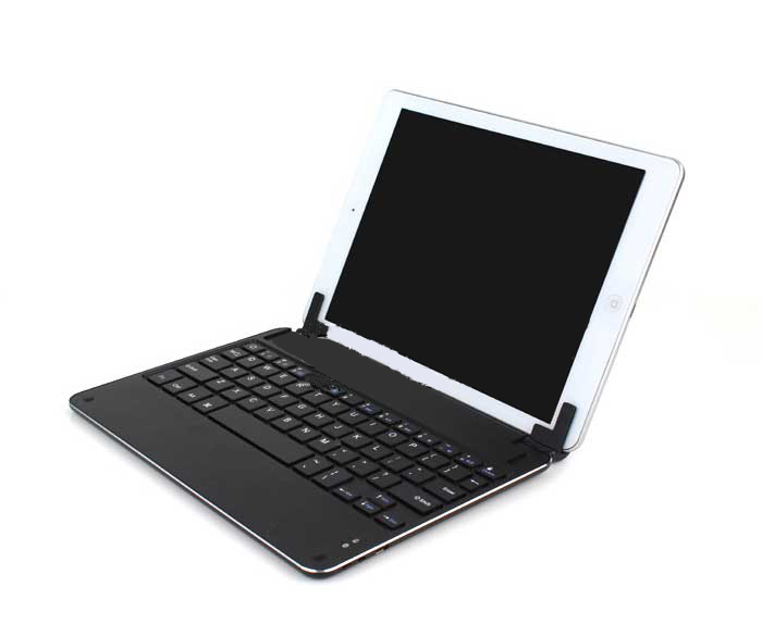 Best Aluminum Silver Keyboard Apple iPad Air Keyboard Cover For You IPK04_23