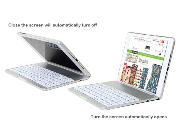 Best Apple Metal iPad Air Keyboard For iPad Air 2 IPK05_10