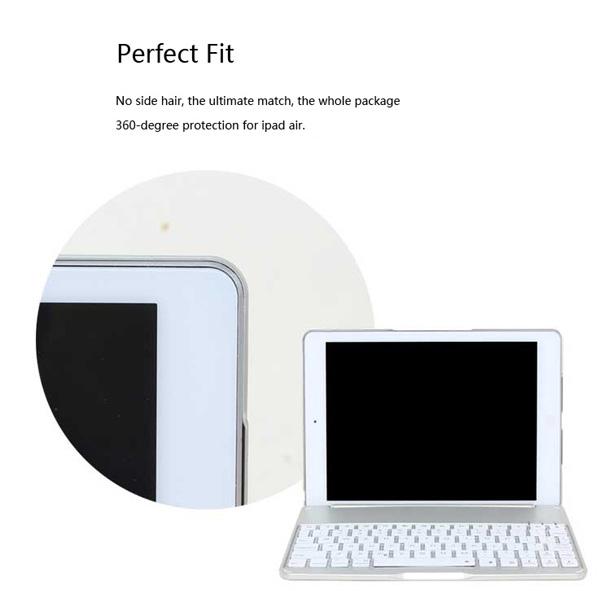Best Apple Metal iPad Air Keyboard For iPad Air 2 IPK05_12
