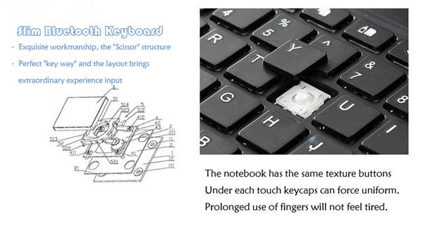 Best Apple Metal iPad Air Keyboard For iPad Air 2 IPK05_15