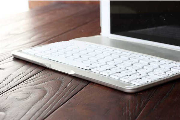 Best Apple Metal iPad Air Keyboard For iPad Air 2 IPK05_25