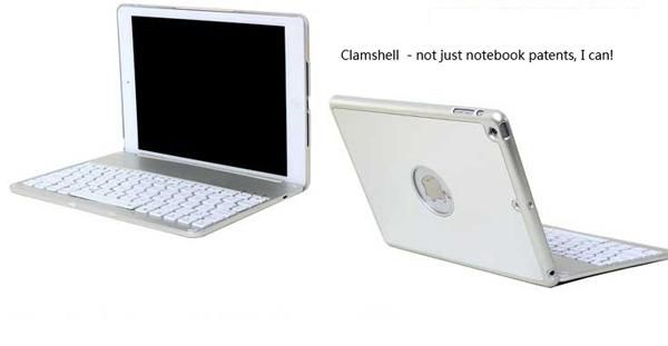 Best Apple Metal iPad Air Keyboard For iPad Air 2 IPK05_7