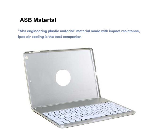 Best Apple Metal iPad Air Keyboard For iPad Air 2 IPK05_9
