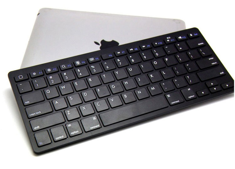 Cheap Bluetooth Silver iPad Air Mini Pro Surface Pro Keyboard IPK07_11