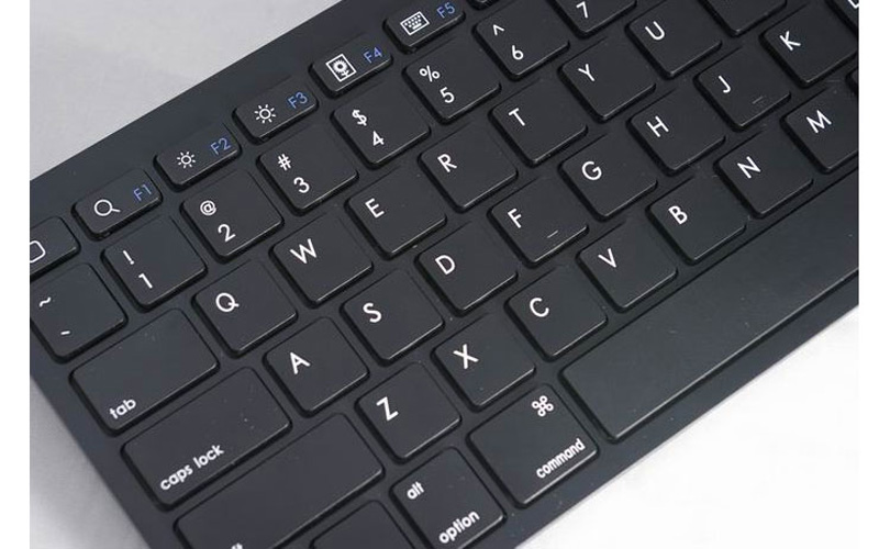 Cheap Bluetooth Silver iPad Air Mini Pro Surface Pro Keyboard IPK07_12