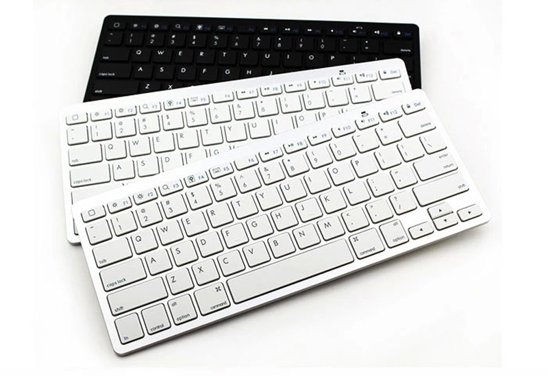 Cheap Bluetooth Silver iPad Air Mini Pro Surface Pro Keyboard IPK07_16