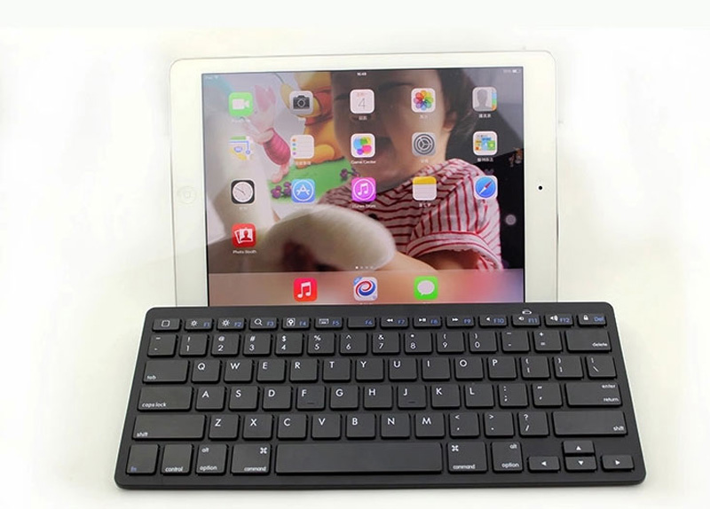 Cheap Bluetooth Silver iPad Air Mini Pro Surface Pro Keyboard IPK07_18