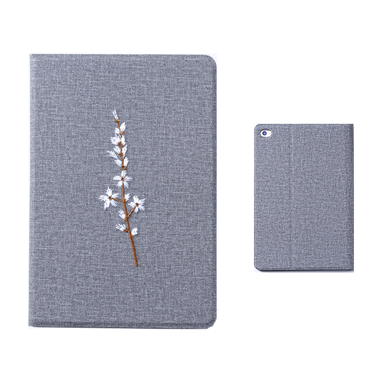 Embroidery Cover For iPad Mini Air Pro 2017 2018 New iPad IPMC03_10
