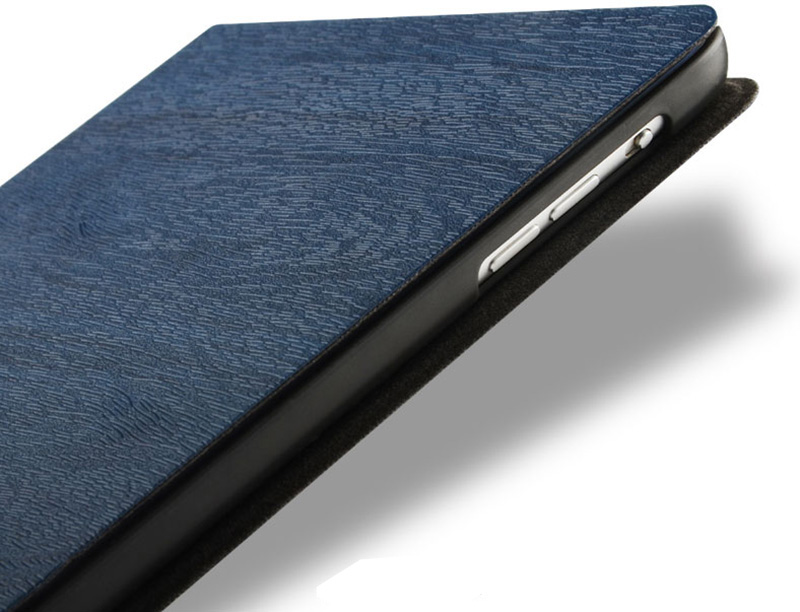 Perfect Dark blue Leather iPad Mini 4 3 2 1 Protective Cases Or Covers IPMC403_14
