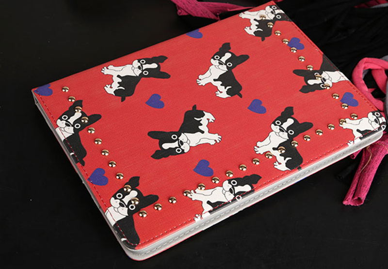 Best Dog Pattern iPad Mini 4 3 2 iPad Air 2 Case Covers IPMC404_10