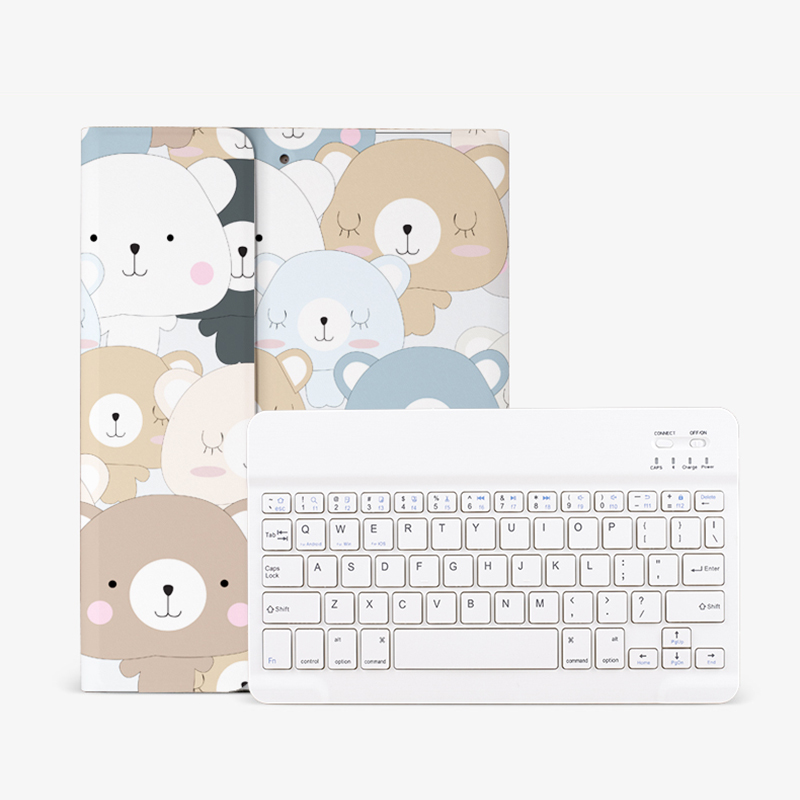 Best Apple Leather New iPad Air 3 2 Mini 5 4 Keyboard With Cover IPMK01_13