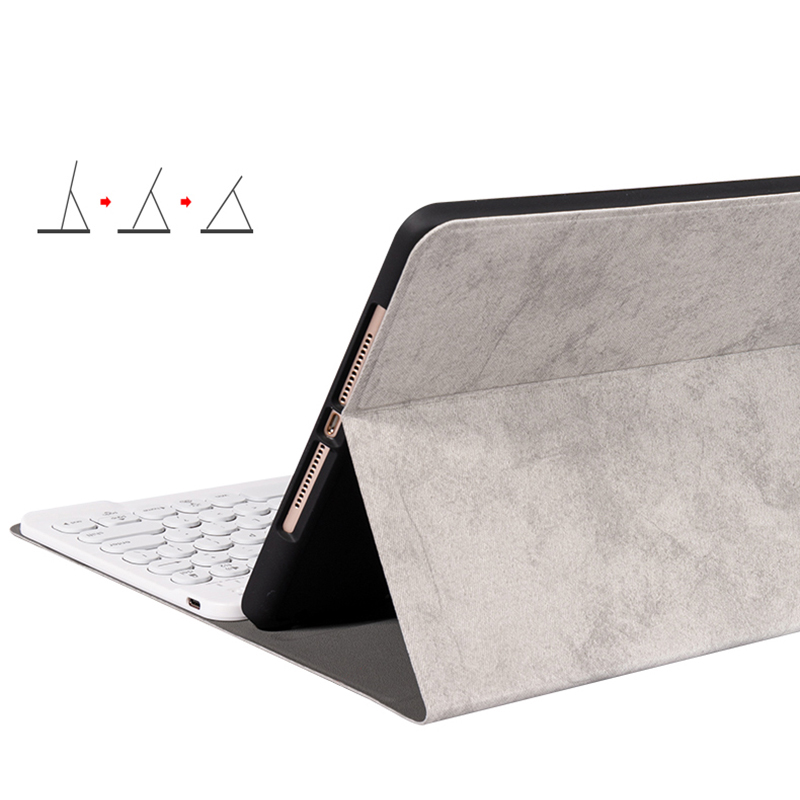 Best Leather New iPad Air 4 3 Pro 11 10.5 Keyboard With Cover IPMK01_8