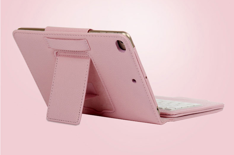 Perfect Removable Leather iPad Mini 4 3 Keyboards With Cases Or Covers IPMK402_8