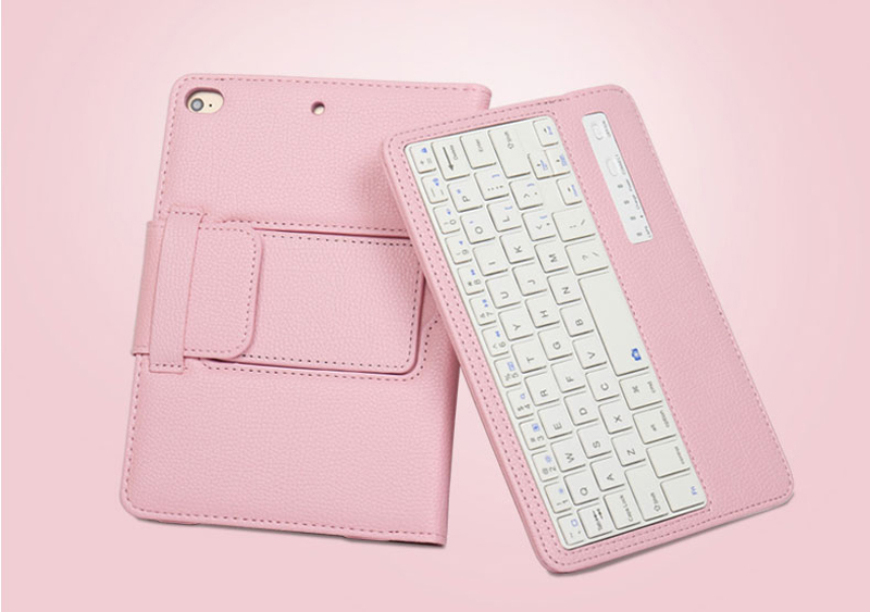 Perfect Removable Leather iPad Mini 4 3 Keyboards With Cases Or Covers IPMK402_9
