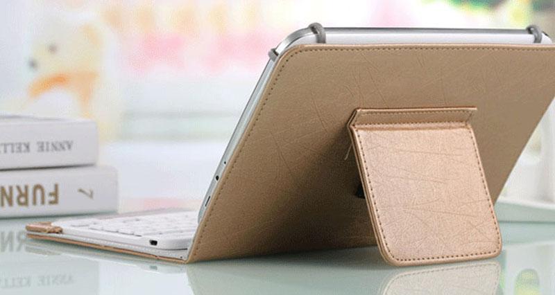 Bluetooth iPad Mini 3 2 keyboard With Leather Case For iPad Mini IPML02_20