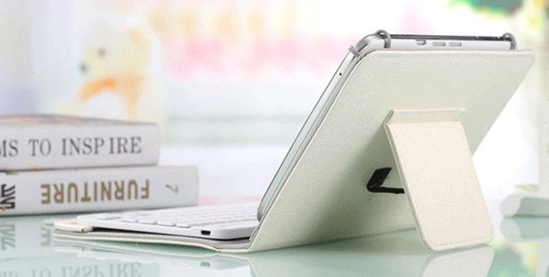 Bluetooth iPad Mini 3 2 keyboard With Leather Case For iPad Mini IPML02_21