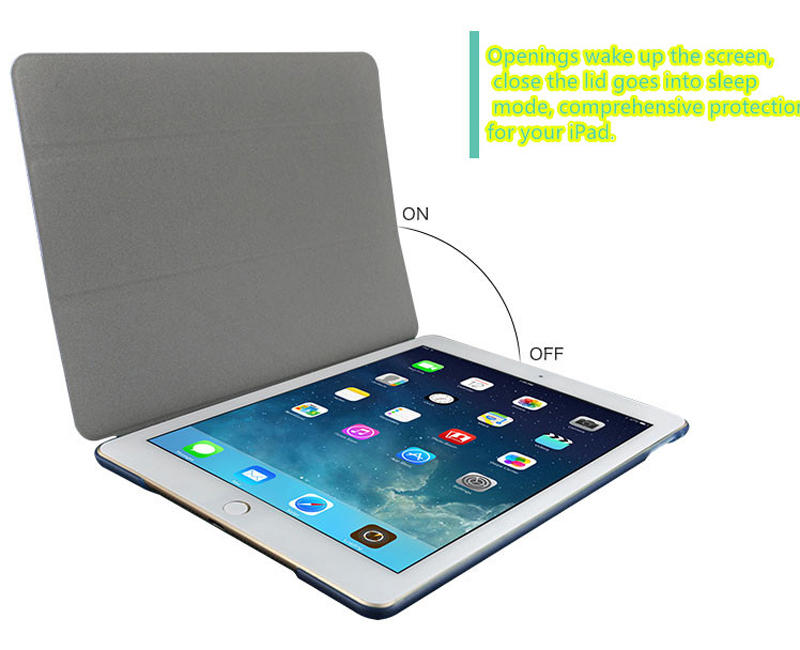 2019 Best Cheap Black Leather Breathable iPad Pro Case Cover IPPC01_12