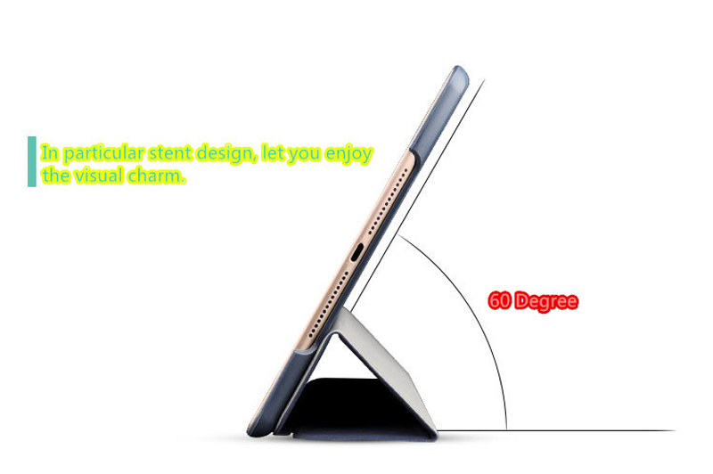2019 Best Cheap Black Leather Breathable iPad Pro Case Cover IPPC01_13
