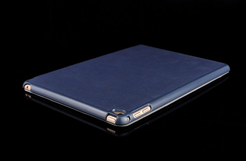2019 Best Cheap Black Leather Breathable iPad Pro Case Cover IPPC01_17