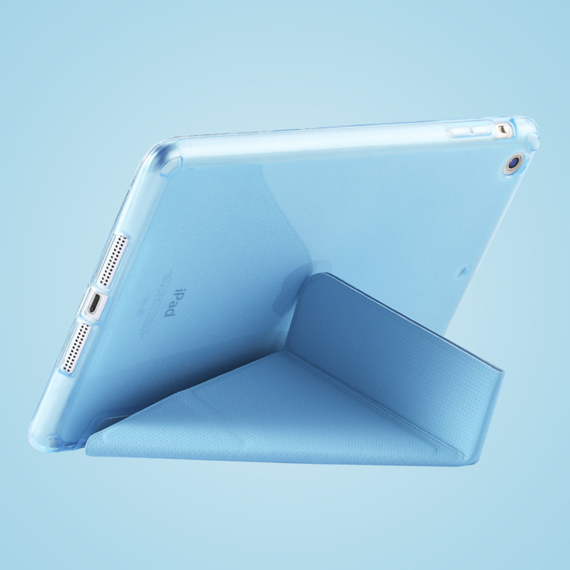 Cheap Cool Sky Blue Leather New iPad Pro Covers Or Cases IPPC02_12