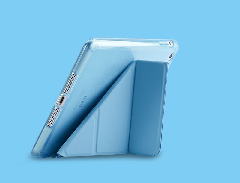Cheap Cool Sky Blue Leather New iPad Pro Covers Or Cases IPPC02_13