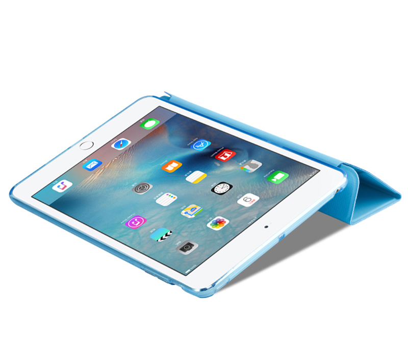 Cheap Cool Sky Blue Leather New iPad Pro Covers Or Cases IPPC02_14