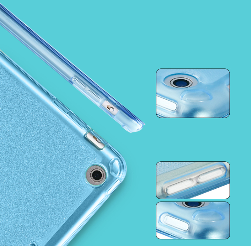 Cheap Cool Sky Blue Leather New iPad Pro Covers Or Cases IPPC02_9