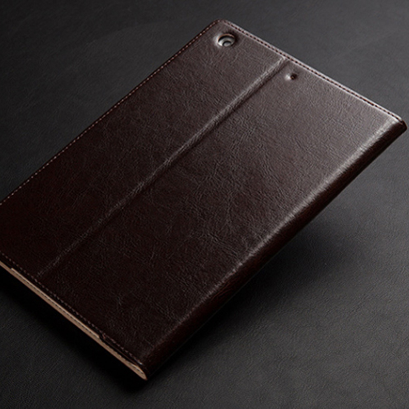 Leather Brown iPad Pro Air 2 Mini 4 Folio Protective Case Cover IPPC03_15