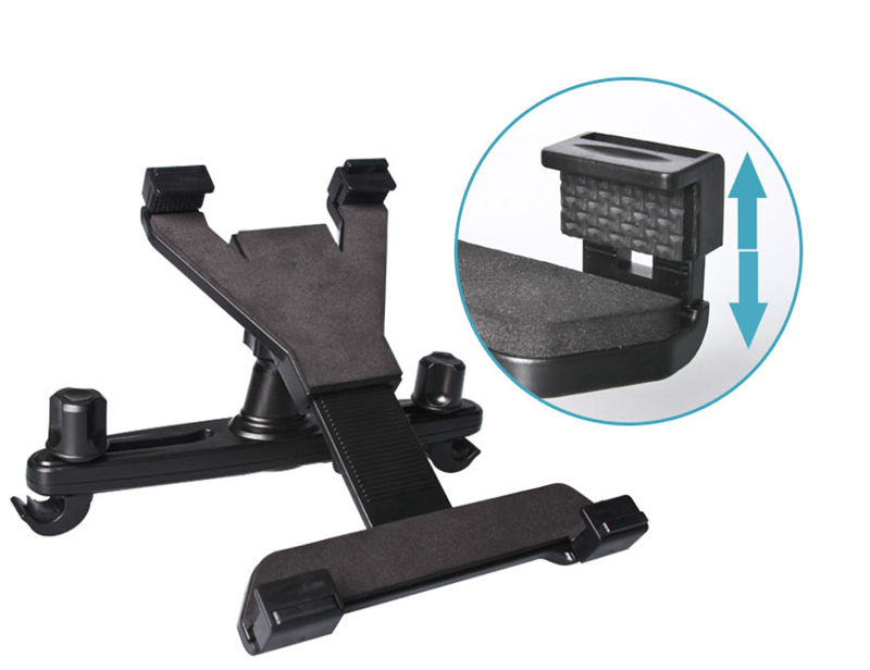 Car Lazy Bracket For iPad 2 3 4 Air 2 iPad Mini Tablet Rear Seat Headrest IPS03_10