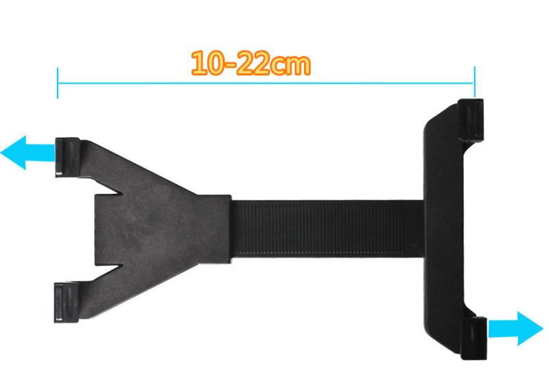 Car Lazy Bracket For iPad 2 3 4 Air 2 iPad Mini Tablet Rear Seat Headrest IPS03_6