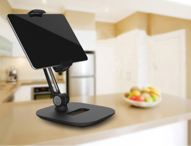 Aluminum Alloy 360 Degree Rotation Stand For Phone iPad Tablet IPS09_7
