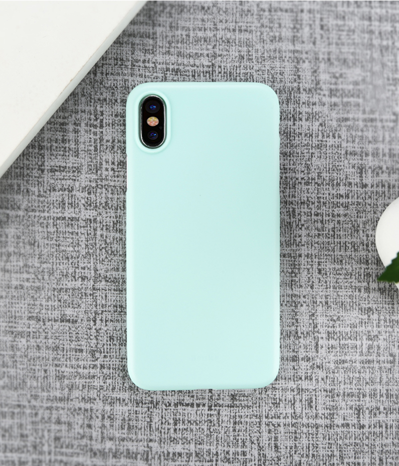 Perfect Black Thin iPhone X XS Protective Case Cover IPS102_12