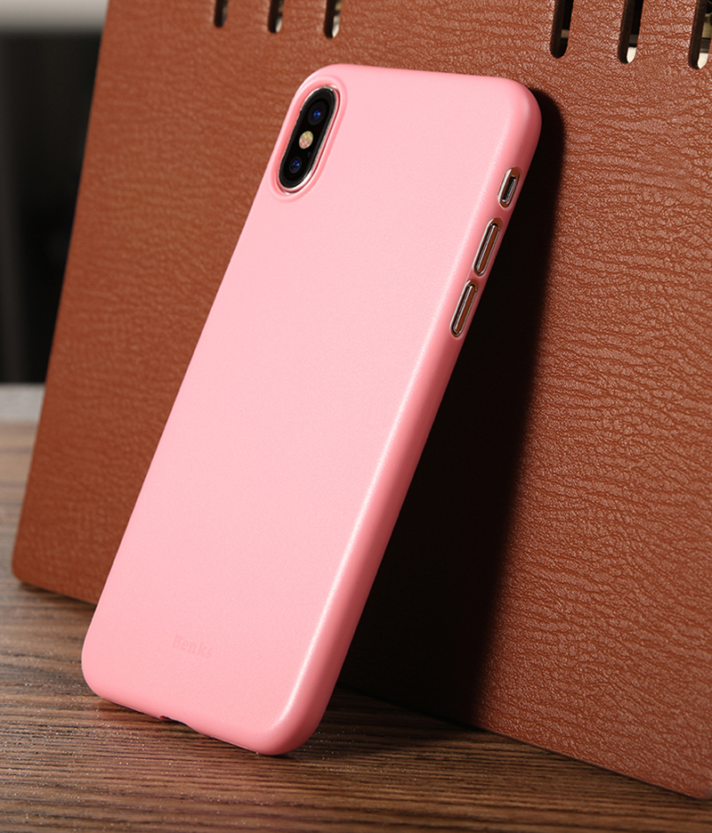 Perfect Black Thin iPhone X XS Protective Case Cover IPS102_13