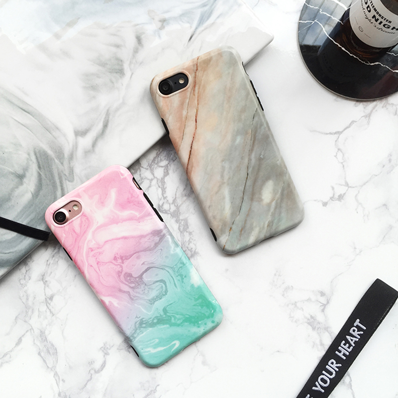 Marble Pattern Cover Case For iPhone X 8 7 6S 6 Plus IPS104_10