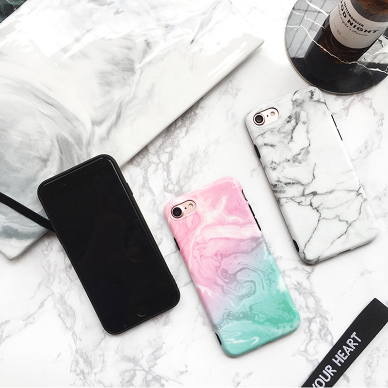 Marble Pattern Cover Case For iPhone X 8 7 6S 6 Plus IPS104_8