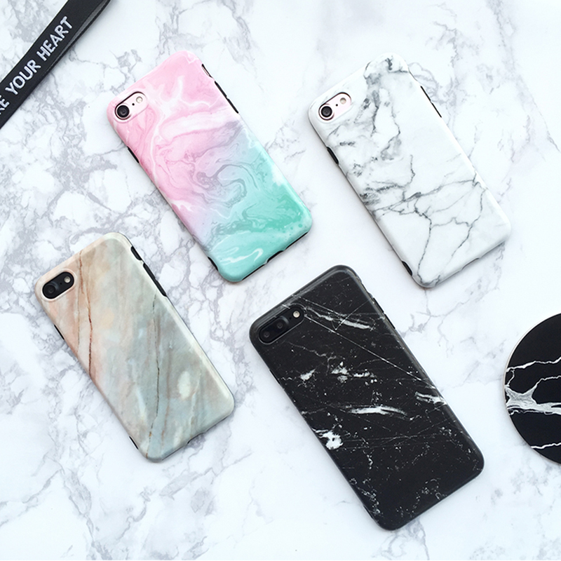 Marble Pattern Cover Case For iPhone X 8 7 6S 6 Plus IPS104_9