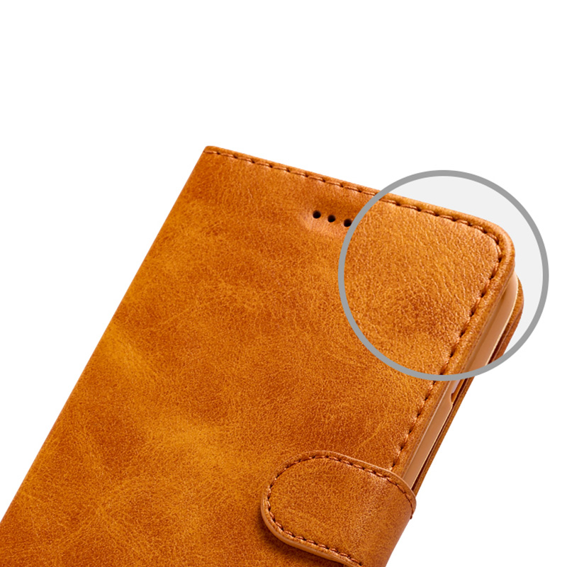 Leather iPhone X Wallet Case Cover With Card Slot IPS110_8