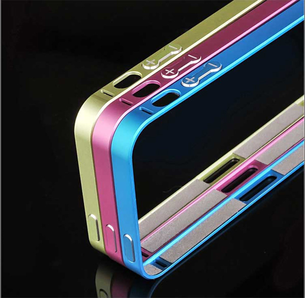 Gold Iphone 5 Bumper Protection IPS502_14