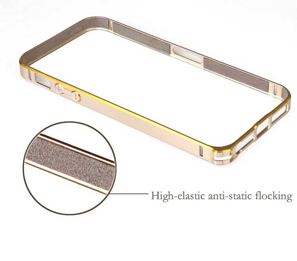 Gold Iphone 5 Bumper Protection IPS502_18
