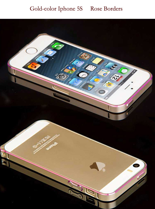 Gold Iphone 5 Bumper Protection IPS502_29