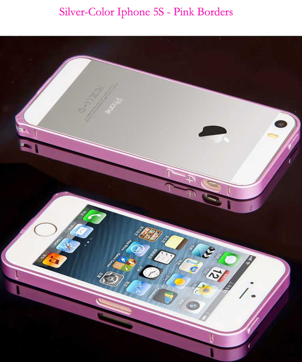 Gold Iphone 5 Bumper Protection IPS502_37