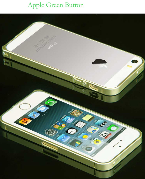 Gold Iphone 5 Bumper Protection IPS502_38