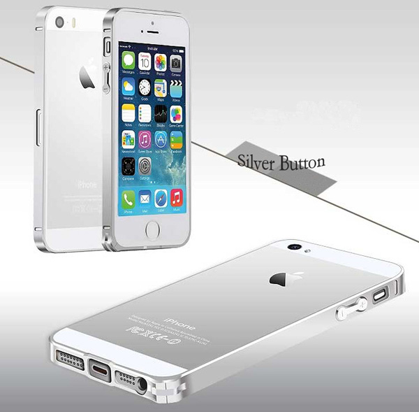 Gold Iphone 5 Bumper Protection IPS502_42