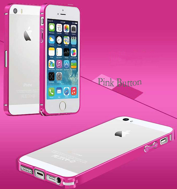 Gold Iphone 5 Bumper Protection IPS502_43